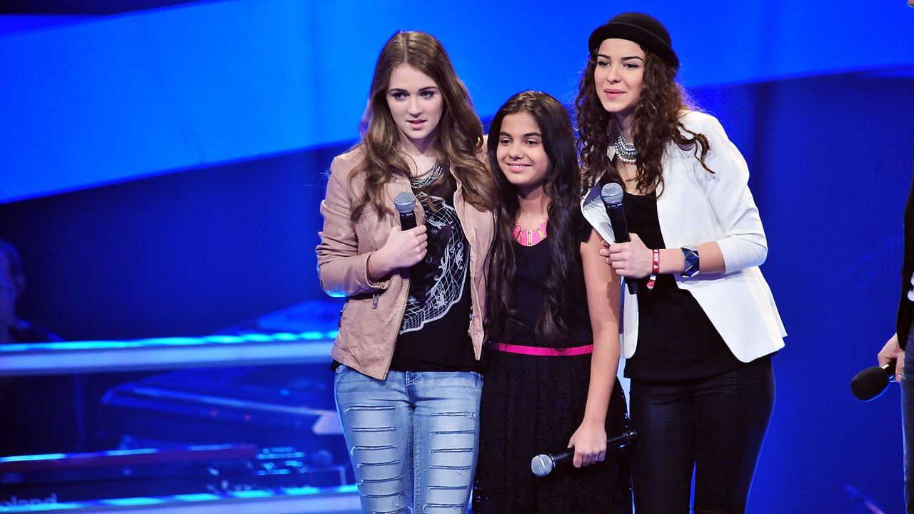 The-Voice-Kids-Stf02-Epi05-Melissa-Naomi-Ilayda-7-SAT1-Andre-Kowalski - Bildquelle: SAT.1/Andre Kowalski