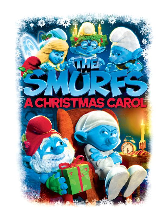 The Smurfs: A Christmas Carol - Plakatmotiv - Bildquelle: 2011 Sony Pictures Animation Inc. All Rights Reserved.