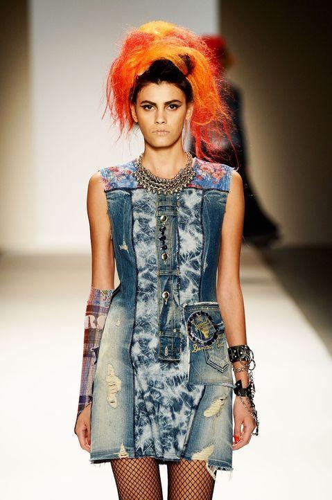 Fashionweek-NY-Alisar-Ailabouni-13-09-09-AFP - Bildquelle: AFP