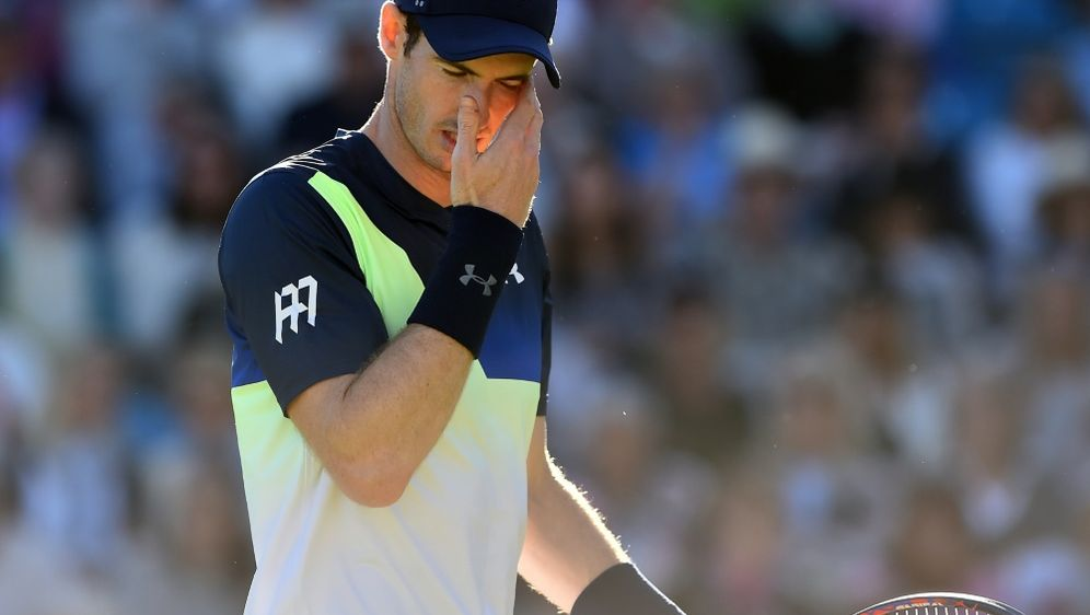 Andy Murray scheidet in Eastbourne aus - Bildquelle: AFPSIDGLYN KIRK
