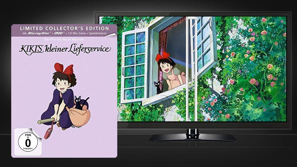Kikis kleiner Lieferservice (Blu-ray+DVD Steelbook)