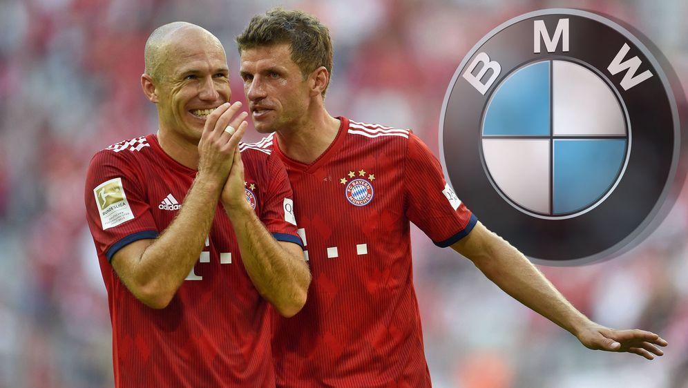 Sponsorenwechsel beim FC Bayern: BMW statt Audi - Bildquelle: 2018 imago