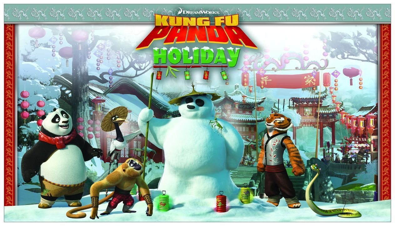 KUNG FU PANDA: EIN SCHLAGFERTIGES WINTERFEST - Plakatmotiv - Bildquelle: 2008 DREAMWORKS ANIMATION LLC. ALL RIGHTS RESERVED.