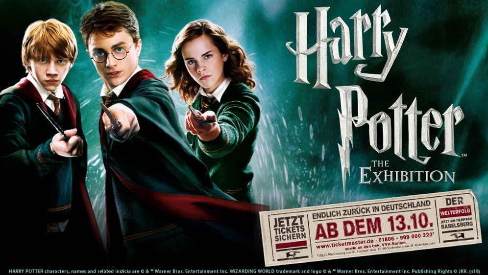 Family Ticketpaket Für Harry Potter The Exhibition Gewinnen
