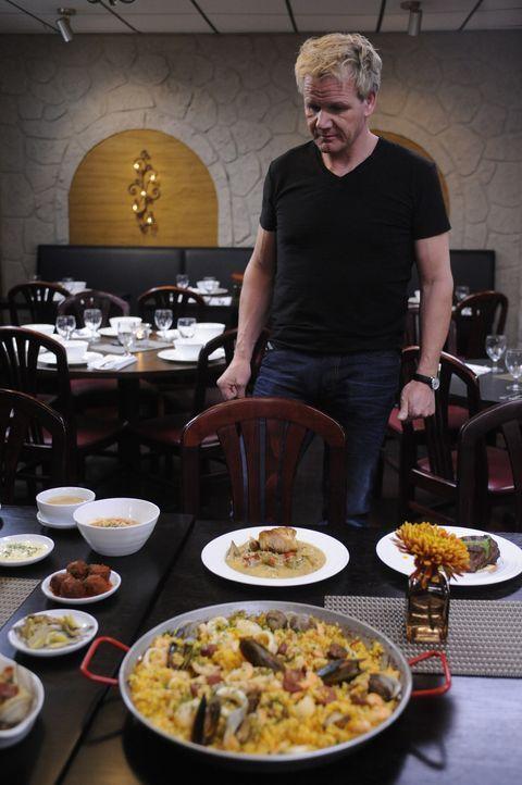 Essen ist ja schön und gut, aber Gordon Ramsey kümmert sich auch um die öde Inneneinrichtung des Restaurants ... - Bildquelle: Fox Broadcasting.  All rights reserved.