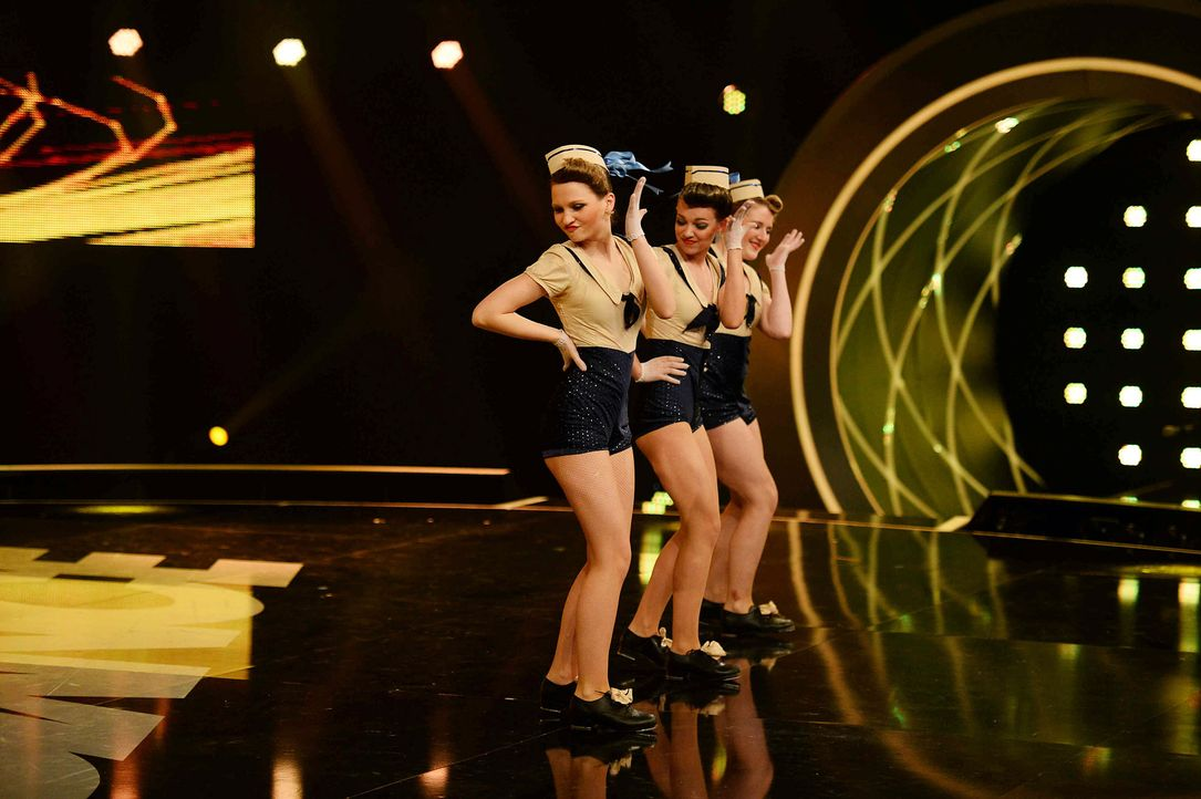 Got-To-Dance-Sailor-Girls-01-SAT1-ProSieben-Willi-Weber - Bildquelle: SAT.1/ProSieben/Willi Weber