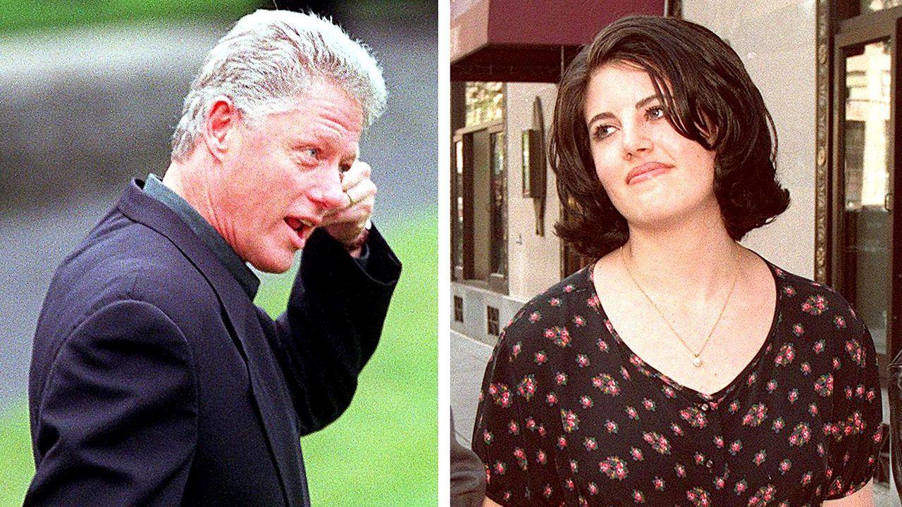 Promi-Skandale-Bill-Clinton_Monica-Lewinsky-1998-8-14-AFP - Bildquelle: AFP