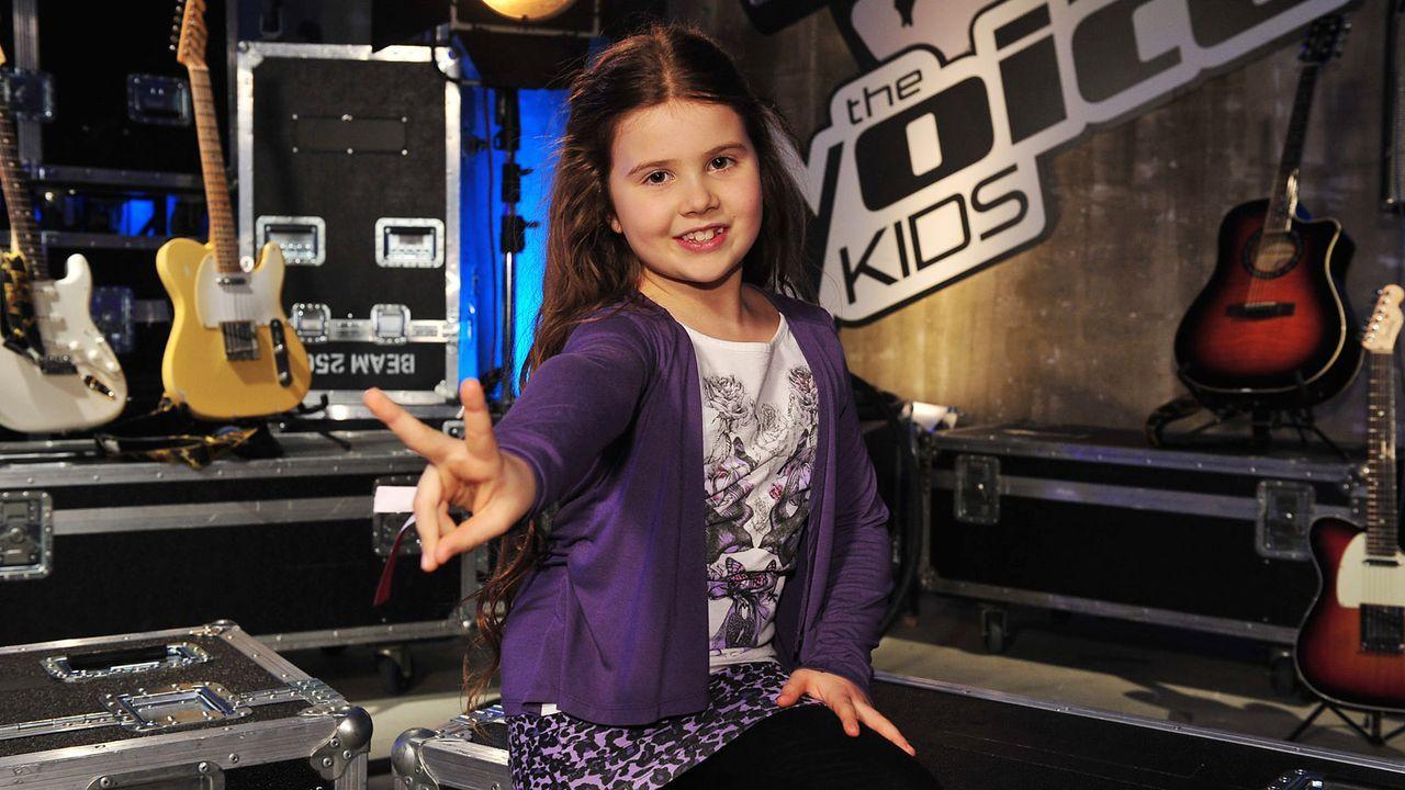 The-Voice-Kids-Stf02-Epi05-Larissa-7-SAT1-Andre-Kowalski - Bildquelle: SAT.1/Andre Kowalski