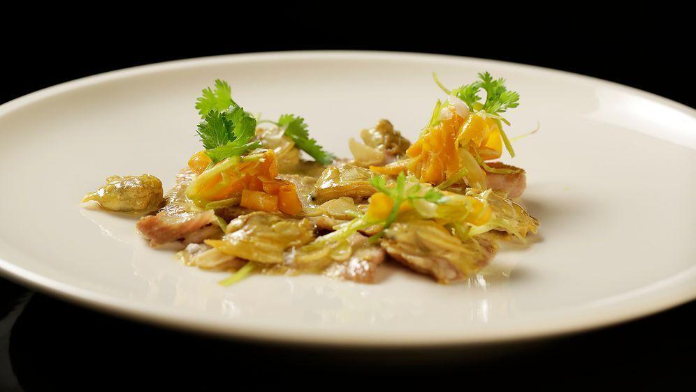 Venusmuscheln mit Zitronengrascurry