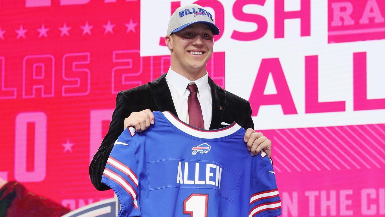 10. Josh Allen (Buffalo Bills)  - Bildquelle: 2018 Getty Images