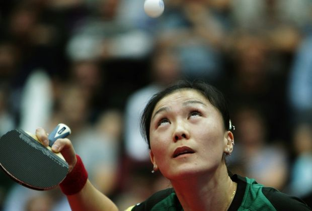 Gab nur einen Satz ab im Final Four: Shan Xiaona