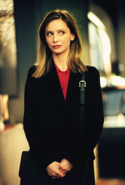 Bei ihrem neuesten Fall muss Ally (Calista Flockhart) ausgerechnet gegen Larry antreten ... - Bildquelle: 2001 Twentieth Century Fox Film Corporation. All rights reserved.