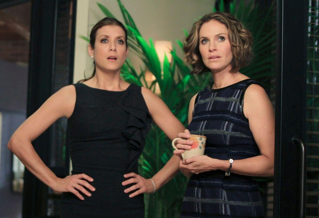 Nach 12 Tagen taucht Amelia wieder in der Praxis auf - ohne zu ahnen, dass sie so lange abwesend war. Addison (Kate Walsh, l.), Violet (Amy Brennema... - Bildquelle: ABC Studios