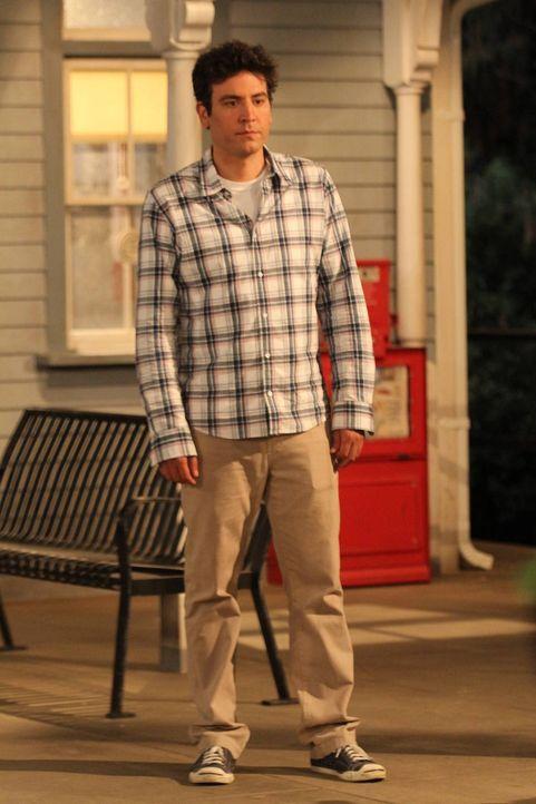 Muss eine ganz besondere Aufgabe erledigen: Ted (Josh Radnor) ... - Bildquelle: 20th Century Fox International Television