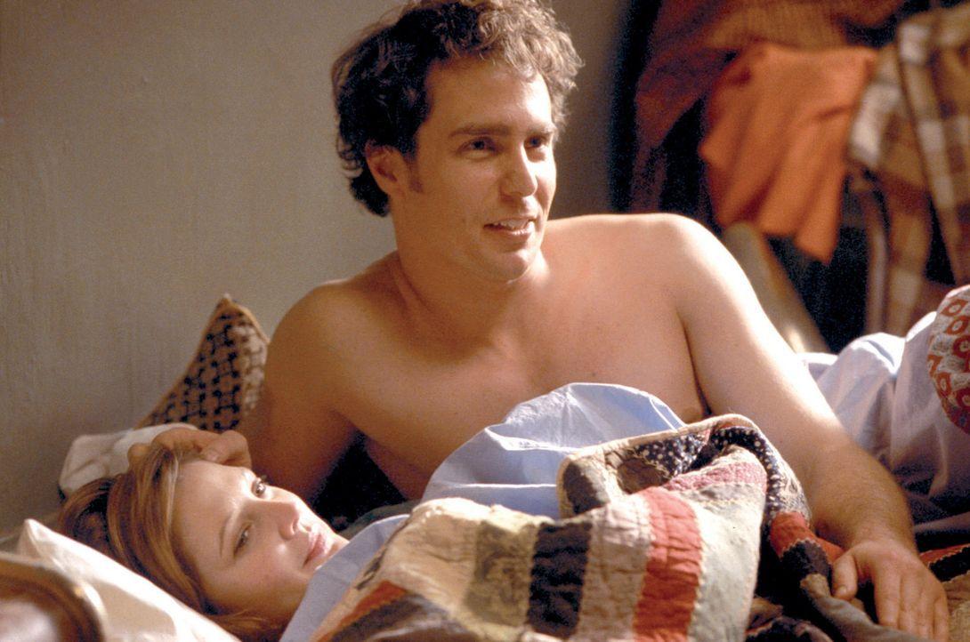 Penny (Drew Barrymore, l.) hätte ihn auch als Mr. Niemand genommen und das erste Mal in seinem Leben gibt es so etwas wie Hoffnung für den angehen... - Bildquelle: Takashi Seida Miramax Films