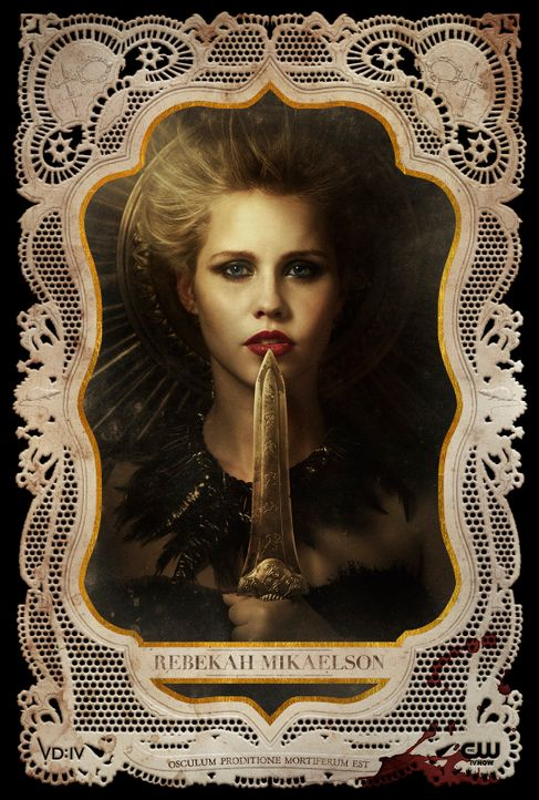 Clair Holt ist Rebekah - Bildquelle: Warner Bros Entertainment Inc.