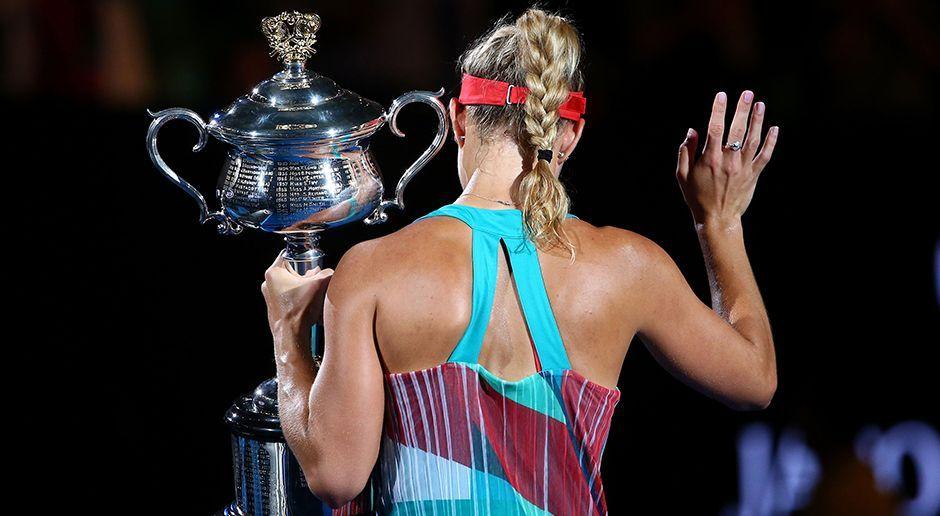 Kerber gewinnt Australian Open: Die besten Szenen - Bildquelle: 2016 Getty Images