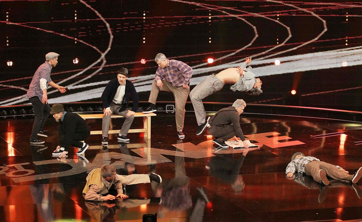 Got-To-Dance-DMA-Crew-04-SAT1-ProSieben-Guido-Engels - Bildquelle: SAT.1/ProSieben/Guido Engels