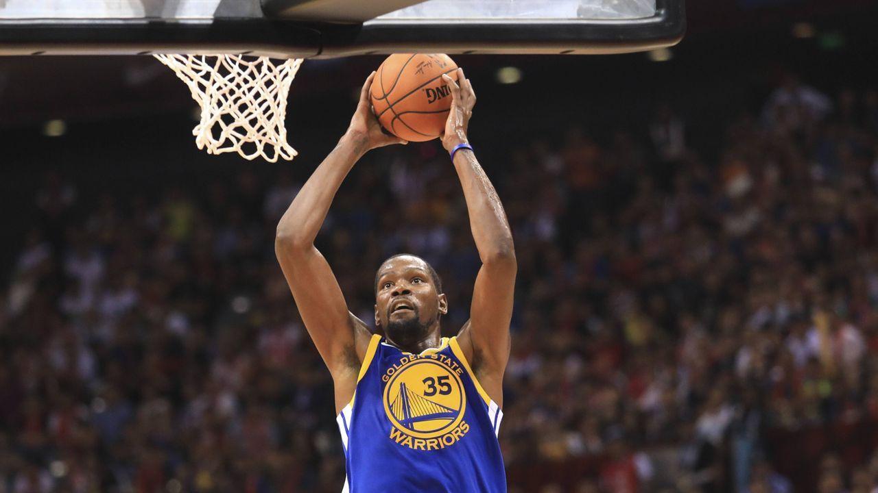 Kevin Durant (Golden State Warriors) - Bildquelle: imago/VCG