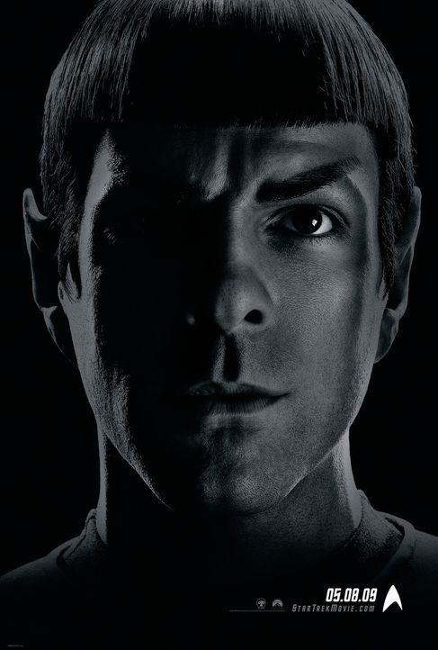 Star Trek - Artwork - Spock (Zachary Quinto) - Bildquelle: Paramount Pictures
