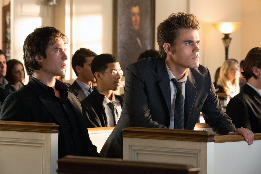 Stefan und Damon - Bildquelle: © Warner Bros. Entertainment Inc.