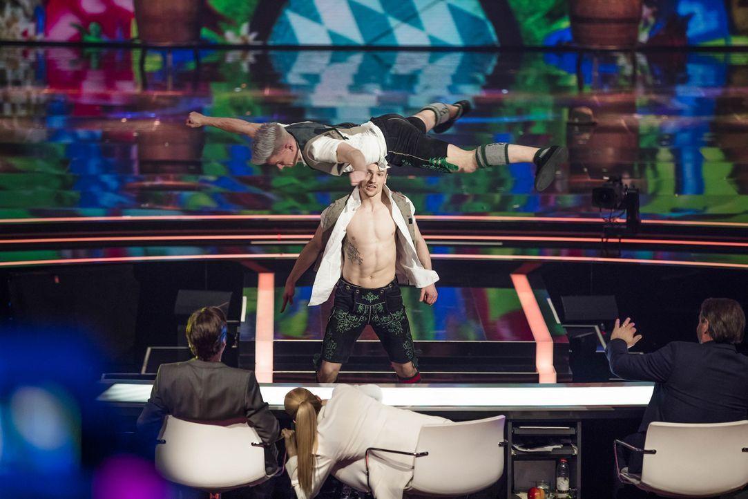 Können die Tänzer von DDC die Jury überzeugen? - Bildquelle: Benedikt Müller SAT.1
