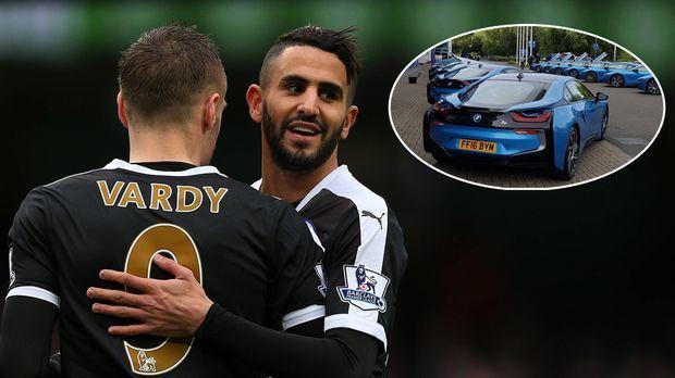 Leicester Meister Helden Bekommen Luxusautos