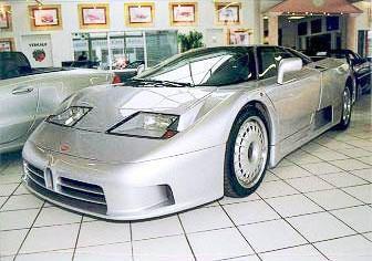 Platz 7: Bugatti EB 110 - Bildquelle: www.autosalon-singen.de