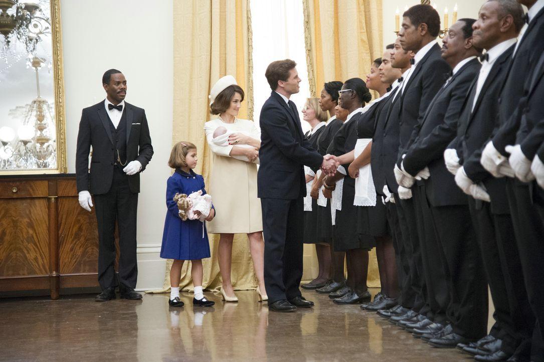 Eines Tages wird Cecil Gaines (Forest Whitaker, 3.v.r.) von Freddie Fallows (Colman Domingo, l.) ins Weiße Haus eingeladen, um dort Butler zu werden... - Bildquelle: Prokino Filmverleih GmbH