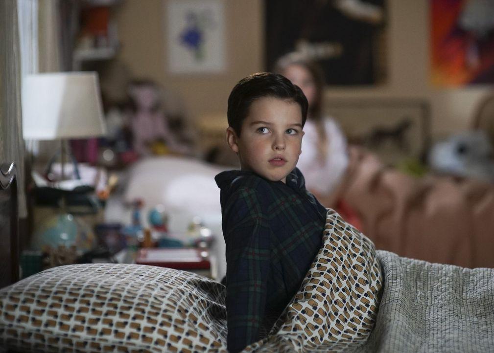 Sorgt eine ganz frühe Erinnerung von Sheldon (Iain Armitage) schließlich dafür, dass sich Meemaw und George wieder vertragen? - Bildquelle: Warner Bros.