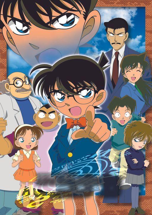 Der 17-jährige Oberschüler und brillante Hobby-Detektiv Shin'ichi Kudo (M.) wird bei Nachforschungen zu einem Fall von zwei Männern niedergeschlagen... - Bildquelle: Gosho Aoyama / Shogakukan, YTV, TMS 1996