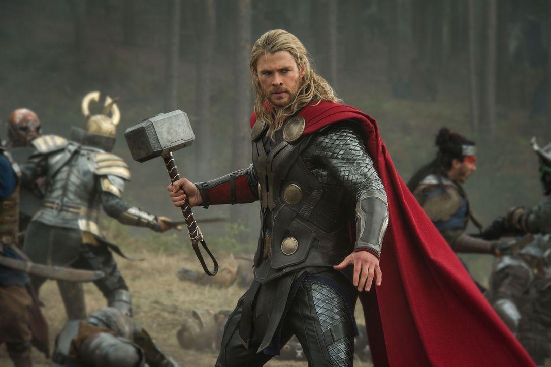 Thor in Action - Bildquelle: TM & © 2013 Marvel & Subs