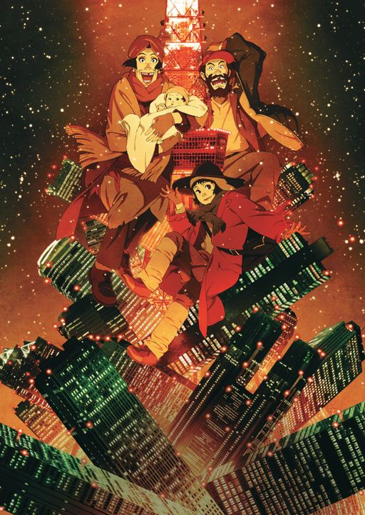 TOKYO GODFATHERS - Artwork - Bildquelle: 2003 Satoshi Kon, Mad House and Tokyo Godfathers Committee. All Rights Reserved.
