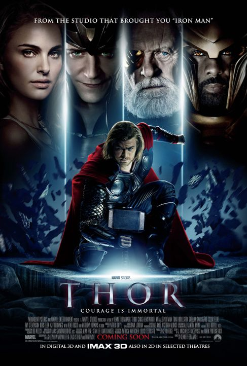 THOR - Plakatmotiv - Bildquelle: 2011 MVLFFLLC. TM &   2011 Marvel. All Rights Reserved.