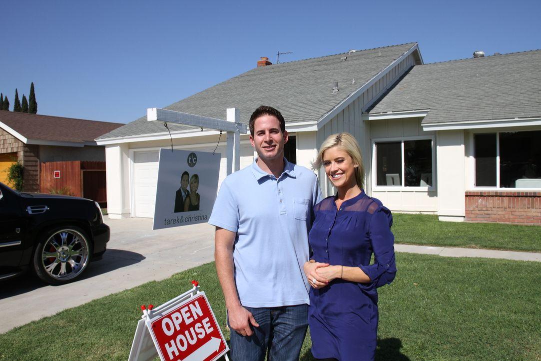 Tarek und Christina kaufen ein Haus in Anaheim, ohne zuvor die Innenräume gesehen zu haben ... - Bildquelle: 2013,HGTV/Scripps Networks, LLC. All Rights Reserved