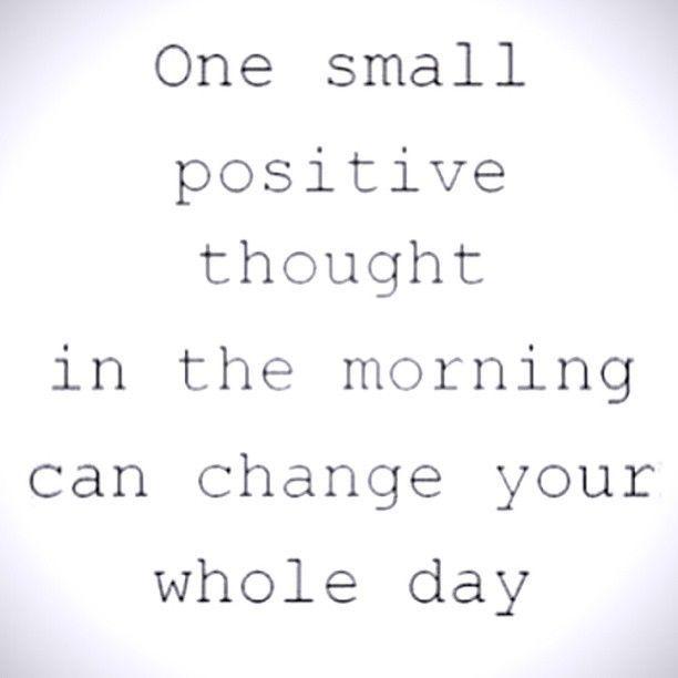 Positiv denken