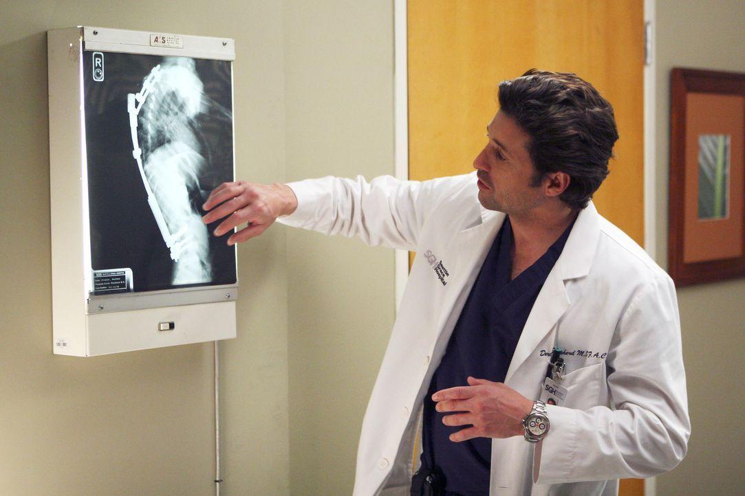 Derek (Patrick Dempsey) erklärt sich bereit, den schwierigen Eingriff bei Heather durchzuführen ... - Bildquelle: Touchstone Television