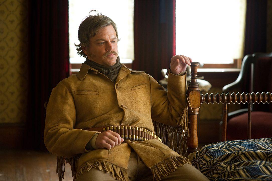 Für Mattie steht es außer Frage, dass sie Tom Chaney für den Mord an ihrem Vater hängen sehen möchte. Texas Ranger LaBoeuf (Matt Damon) hingegen wil... - Bildquelle: (2010) PARAMOUNT PICTURES. All rights reserved.