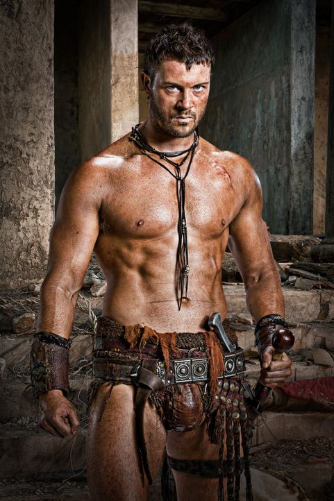 Agron (Daniel Feuerriegel) kennt kein Pardon ... - Bildquelle: 2011 Starz Entertainment, LLC. All rights reserved.