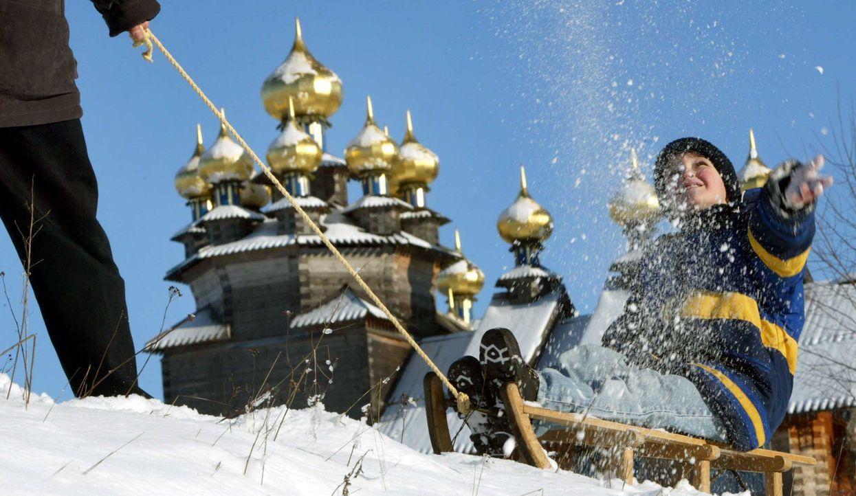 Kirchen auf Kischi - Bildquelle: dpa