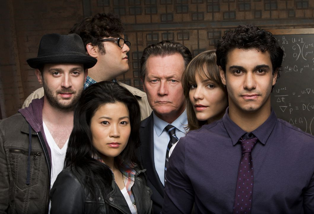 (1. Staffel) - Gemeinsam setzen sie ihre Fähigkeiten für das Allgemeinwohl ein, das Team Scorpion: Walter O'Brien (Elyes Gabel, r.), Toby Curtis (Ed... - Bildquelle: Robert Voets 2014 CBS Broadcasting, Inc. All Rights Reserved