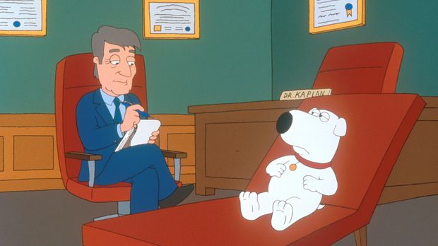 Da Stewie Brian hasst, pinkelt er im Haus überall hin und behauptet, dass es...