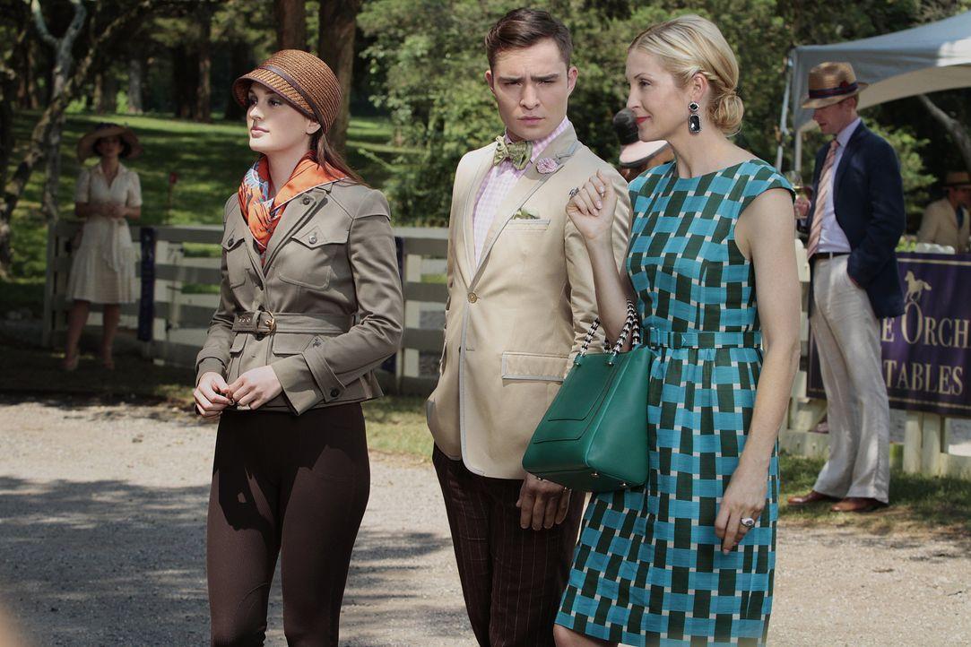 Blair, Chuck und Lily - Bildquelle: Warner Bros. Television