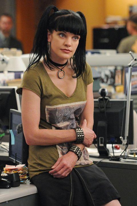 Gibt alles um einen Fall aufzuklären: Abby (Pauley Perrette) ... - Bildquelle: CBS Television
