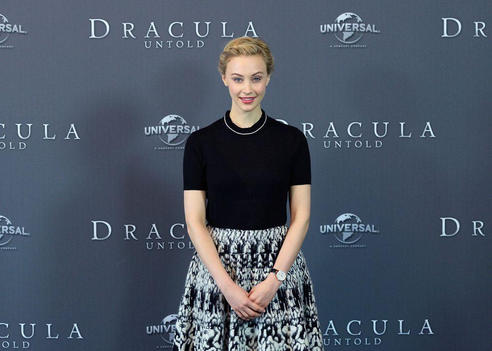 Photocall-Dracula-Untold-Sarah-Gadon-14-09-15-2-dpa - Bildquelle: dpa