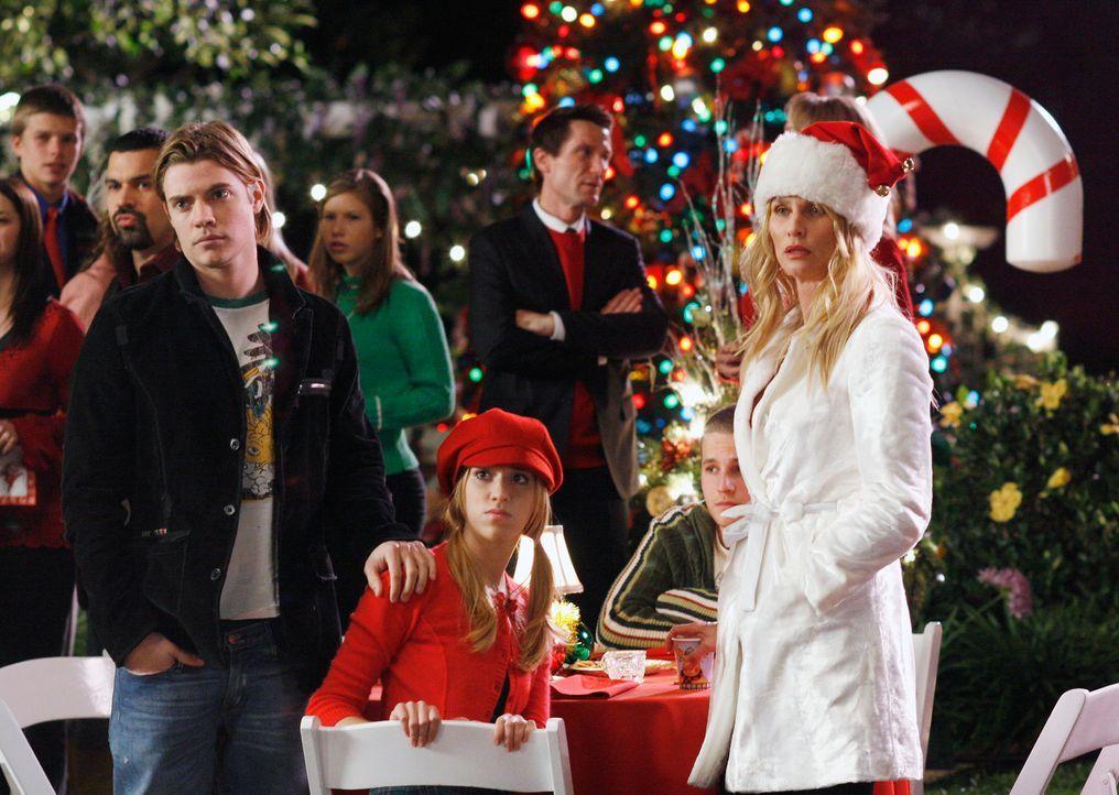 Können nicht glauben, dass sich Art auf der Weihnachtsfeier blicken lässt: Edie (Nicolette Sheridan, r.), Julie (Andrea Bowen, M.) und Austin (Josh... - Bildquelle: 2005 Touchstone Television  All Rights Reserved