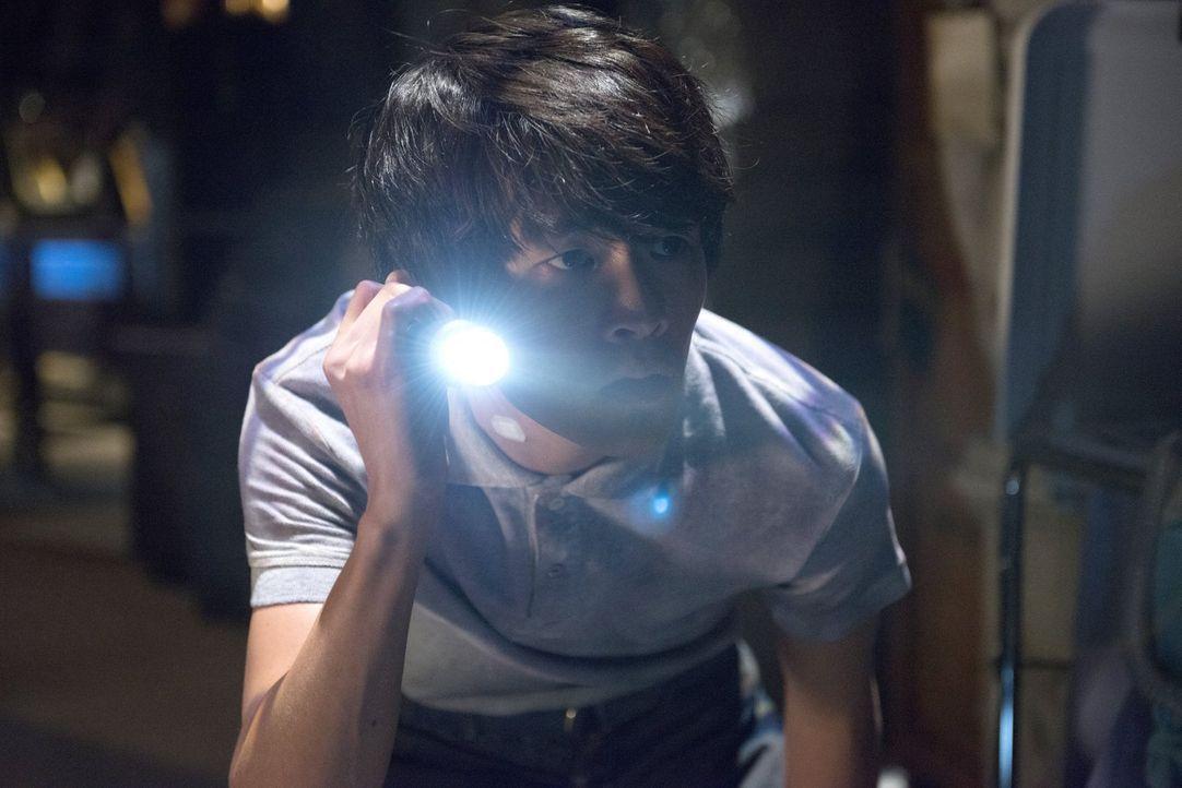 Wird Monty (Christopher Larkin) von den Wachen geschnappt, während er nach einem Fluchtweg sucht oder verfolgt er nur einen besonders riskanten Plan? - Bildquelle: 2014 Warner Brothers