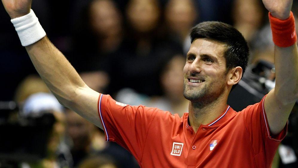 Djokovic war der einzige Top Ten-Spieler in Runde Eins - Bildquelle: AFPSIDANDREJ ISAKOVIC