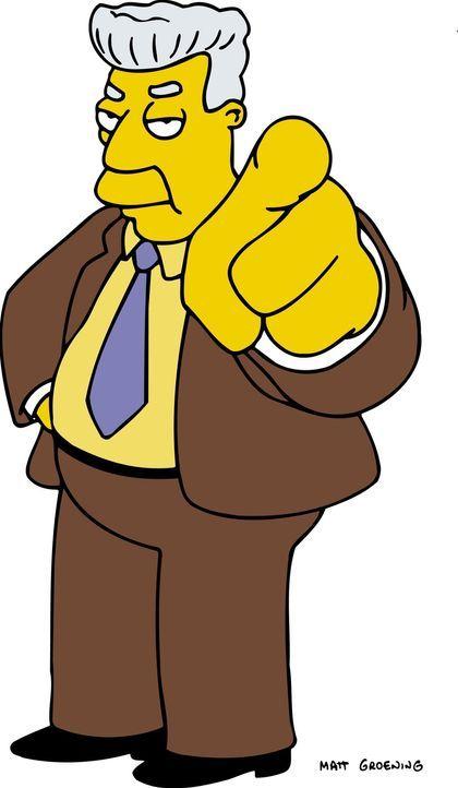 (15. Staffel) - Kent Brockman, Journalist des größten Fernsehsenders Springfields ... - Bildquelle: und TM Twentieth Century Fox Film Corporation - Alle Rechte vorbehalten