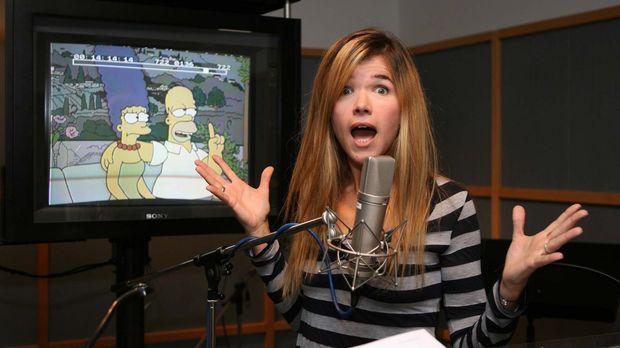 Marge Simpsons neue Stimme Anke Engelke © ProSieben